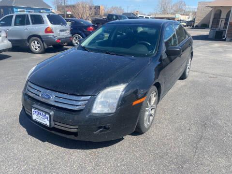 2008 Ford Fusion for sale at Creekside Auto Sales in Pocatello ID