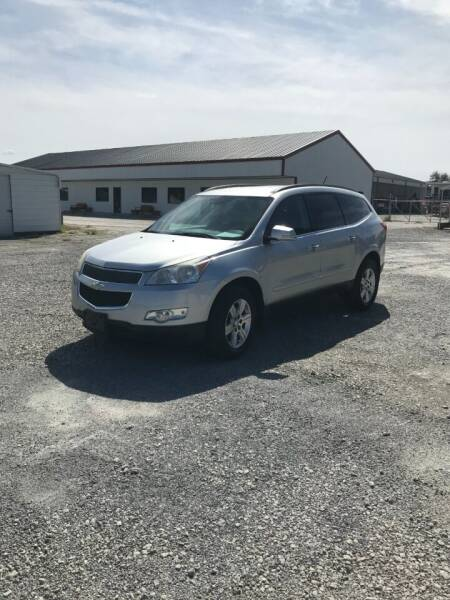 2012 Chevrolet Traverse for sale at CAROLINA TOY SHOP LLC in Hartsville SC