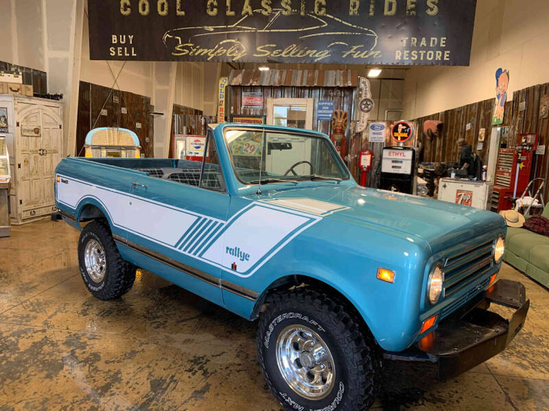 1971 International Scout II 810 4X4 for sale at Cool Classic Rides in Redmond OR
