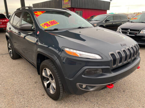 2016 Jeep Cherokee for sale at Top Line Auto Sales in Idaho Falls ID