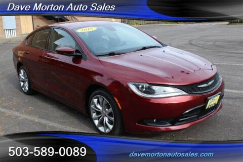 2015 Chrysler 200 for sale at Dave Morton Auto Sales in Salem OR