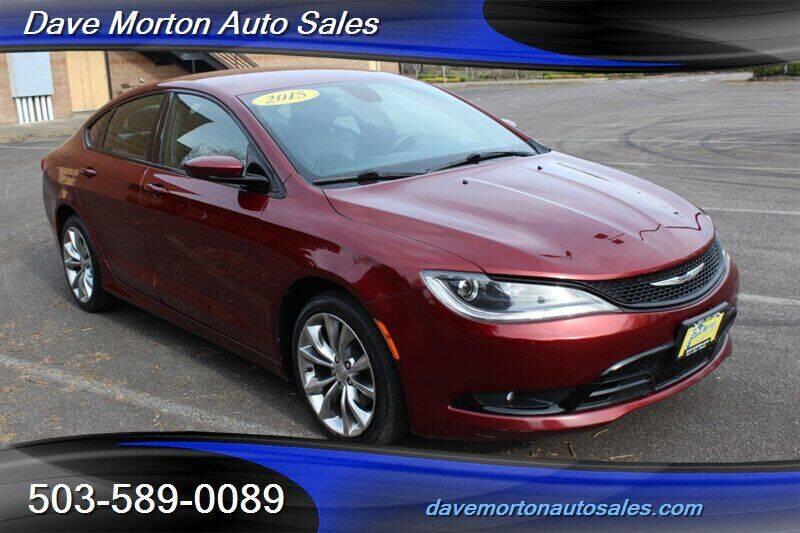 2015 Chrysler 200 for sale at Dave Morton Auto Sales in Salem OR