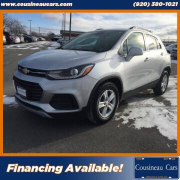 2018 Chevrolet Trax for sale at CousineauCars.com in Appleton WI
