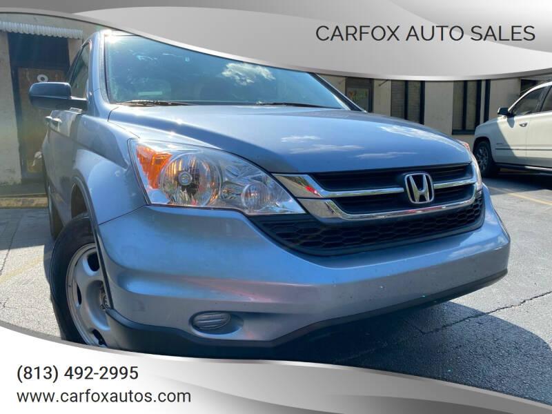 2010 Honda CR-V for sale at Carfox Auto Sales in Tampa FL