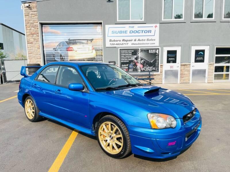 2004 Subaru Impreza for sale at The Subie Doctor in Denver CO