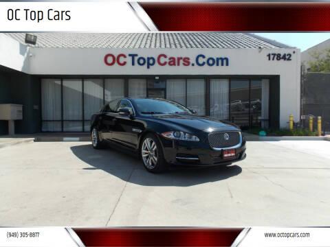 2014 Jaguar XJL for sale at OC Top Cars in Irvine CA