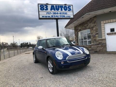 2004 MINI Cooper for sale at 83 Autos in York PA