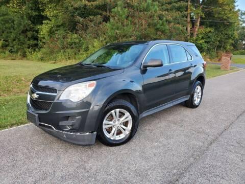 2013 Chevrolet Equinox for sale at TM AUTO WHOLESALERS LLC in Chesapeake VA