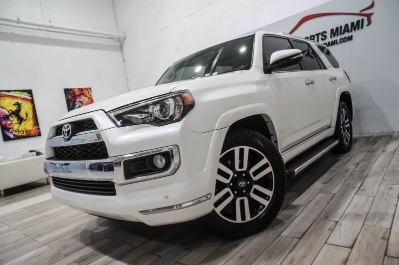 2017 Toyota 4Runner for sale at AUTO IMPORTS MIAMI in Fort Lauderdale FL