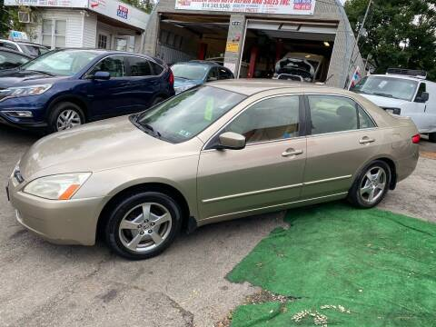 2005 Honda Accord for sale at White River Auto Sales in New Rochelle NY