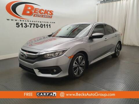 2017 Honda Civic for sale at Becks Auto Group in Mason OH