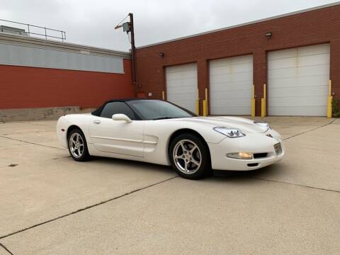 2002 Chevrolet Corvette for sale at First Rate Motors in Milwaukee WI