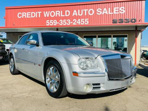 2008 Chrysler 300 for sale at Credit World Auto Sales in Fresno CA