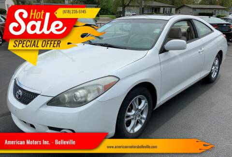 2008 Toyota Camry Solara for sale at American Motors Inc. - Belleville in Belleville IL