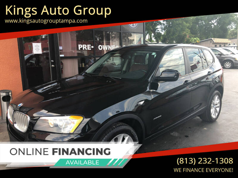 2014 BMW X3 for sale at Kings Auto Group in Tampa FL