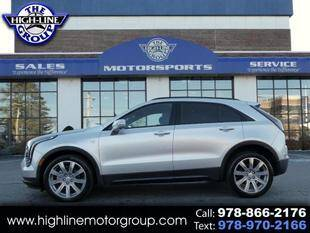 2020 Cadillac XT4 for sale at Highline Group Motorsports in Lowell MA
