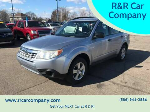 2012 Subaru Forester for sale at R&R Car Company in Mount Clemens MI