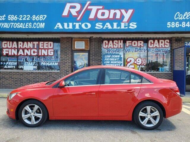 2014 Chevrolet Cruze for sale at R Tony Auto Sales in Clinton Township MI