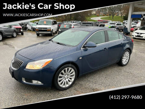2011 Buick Regal for sale at Jackie's Car Shop in Emigsville PA
