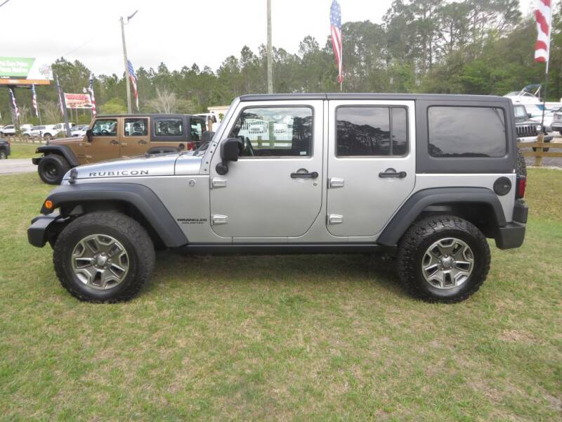 2013 Jeep Wrangler Unlimited for sale at Ward's Motorsports in Pensacola FL
