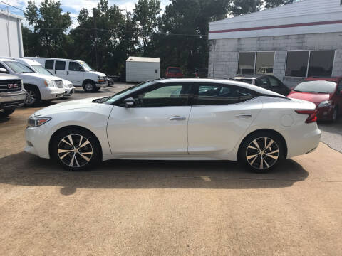 2017 Nissan Maxima for sale at Northwood Auto Sales in Northport AL