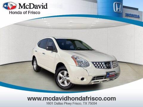 2010 Nissan Rogue for sale at DAVID McDAVID HONDA OF IRVING in Irving TX
