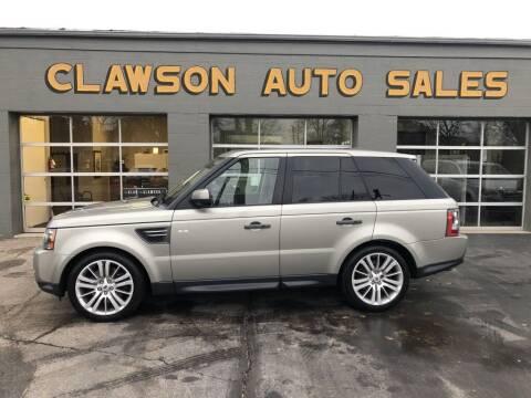 2011 Land Rover Range Rover Sport for sale at Clawson Auto Sales in Clawson MI