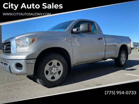 2007 Toyota Tundra for sale at City Auto Sales in Sparks NV