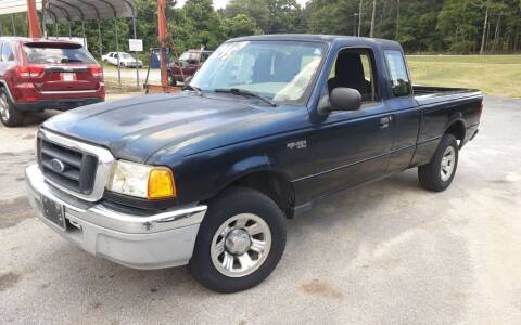 2005 Ford Ranger for sale at Mathews Used Cars, Inc. in Crawford GA