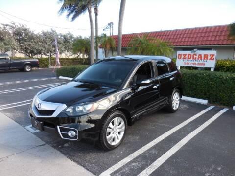 2012 Acura RDX for sale at Uzdcarz Inc. in Pompano Beach FL