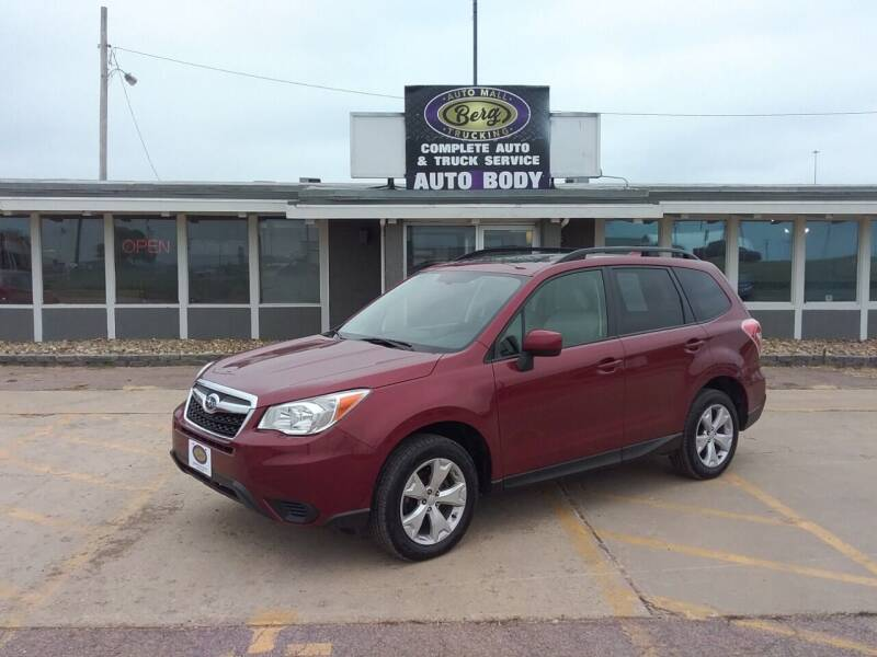 2016 Subaru Forester for sale at BERG AUTO MALL & TRUCKING INC in Beresford SD