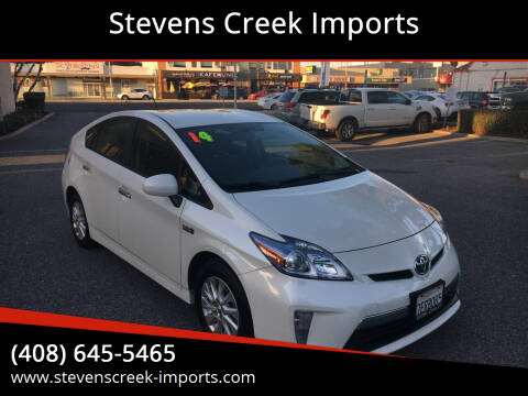 2014 Toyota Prius Plug-in Hybrid for sale at Stevens Creek Imports in San Jose CA