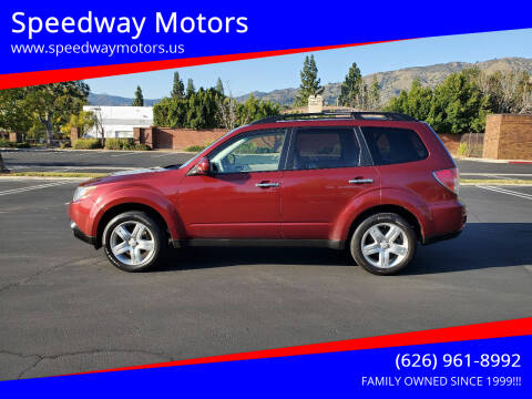 2010 Subaru Forester for sale at Speedway Motors in Glendora CA