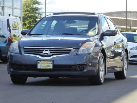 2009 Nissan Altima for sale at Loudoun Motor Cars in Chantilly VA
