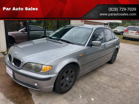 2005 BMW 3 Series for sale at Par Auto Sales in Lenoir NC