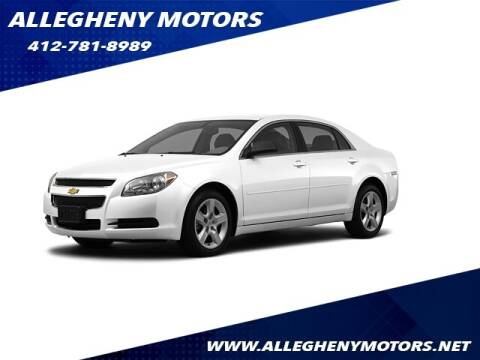 2012 Chevrolet Malibu for sale at Allegheny Motors in Pittsburgh PA