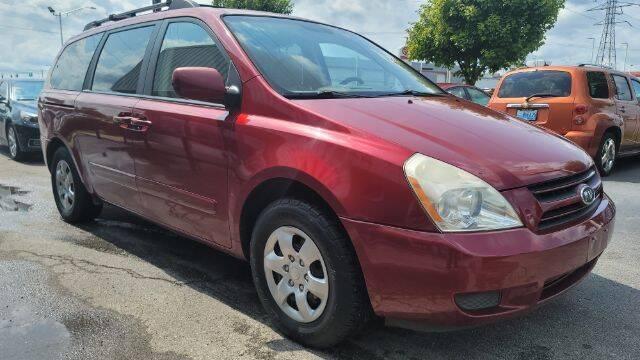 2007 Kia Sedona for sale at Tri City Auto Mart in Lexington KY
