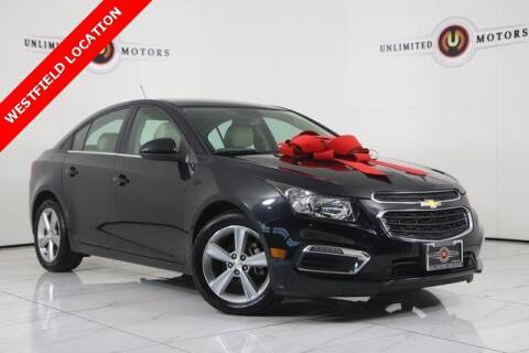 2015 Chevrolet Cruze for sale at INDY'S UNLIMITED MOTORS - UNLIMITED MOTORS in Westfield IN