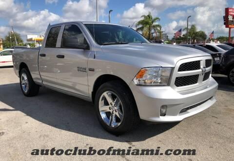 2017 RAM Ram Pickup 1500 for sale at AUTO CLUB OF MIAMI in Miami FL