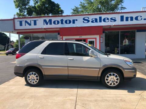 2007 Buick Rendezvous for sale at TNT Motor Sales in Oregon IL