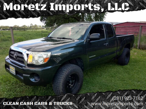 2010 Toyota Tacoma for sale at Moretz Imports, LLC in Spring TX