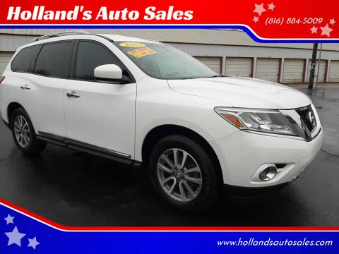 2013 Nissan Pathfinder for sale at Holland's Auto Sales in Harrisonville MO