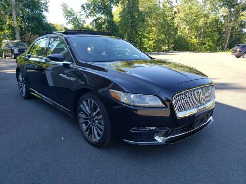 2017 Lincoln Continental for sale at KLC AUTO SALES in Agawam MA