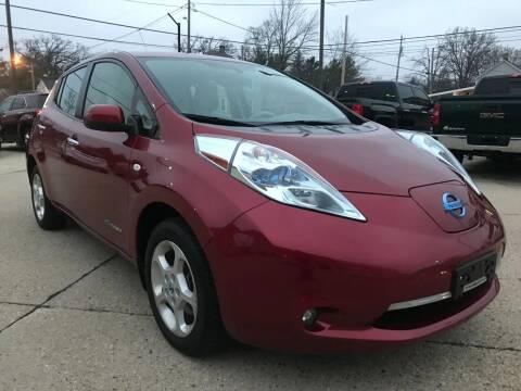 2012 Nissan LEAF for sale at Auto Gallery LLC in Burlington WI
