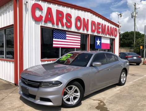 2015 Dodge Charger for sale at Cars On Demand 3 in Pasadena TX