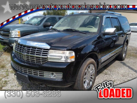 2007 Lincoln Navigator L for sale at Coventry Auto Sales in Youngstown OH