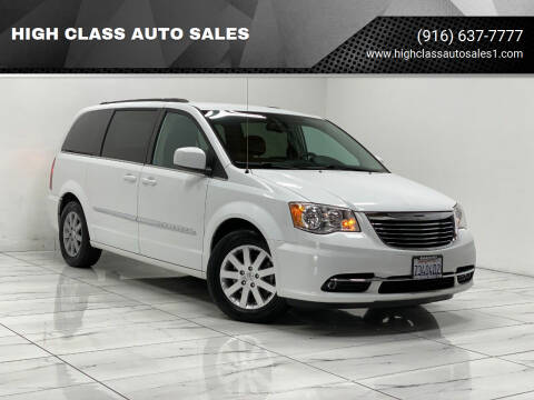 2014 Chrysler Town and Country for sale at HIGH CLASS AUTO SALES in Rancho Cordova CA