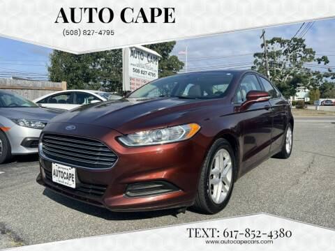 2015 Ford Fusion for sale at Auto Cape in Hyannis MA