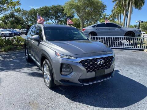 2019 Hyundai Santa Fe for sale at AUTOSHOW SALES & SERVICE in Plantation FL
