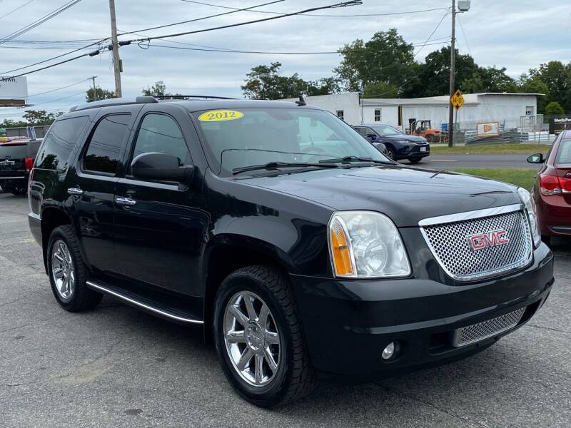 2012 GMC Yukon for sale at MetroWest Auto Sales in Worcester MA
